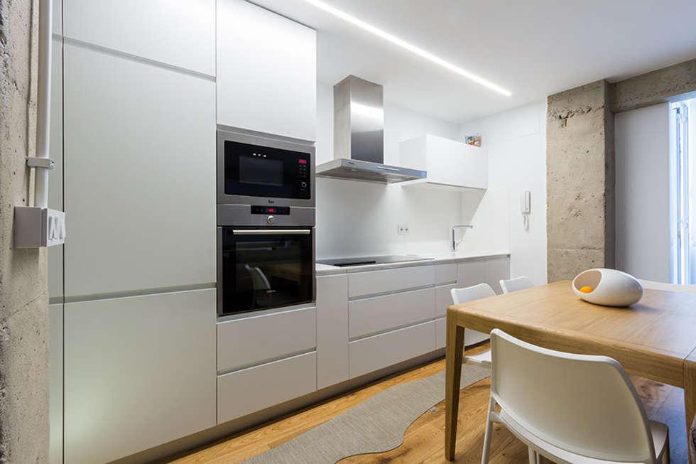 Fotos de decoraci n y dise o de interiores homify for Cocina larga y angosta