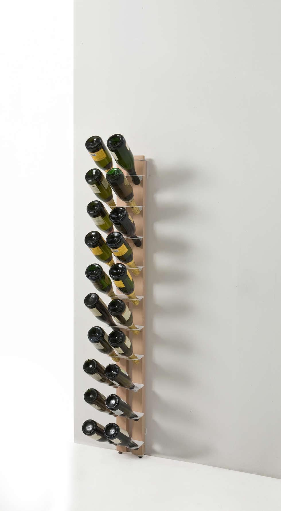 Idee arredamento casa interior design homify - Portabottiglie a parete ...