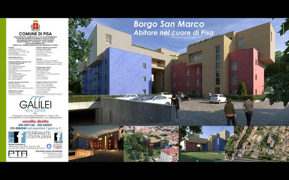 Borgo San Marco - Pisa: Case in stile in stile Moderno di faserem srl