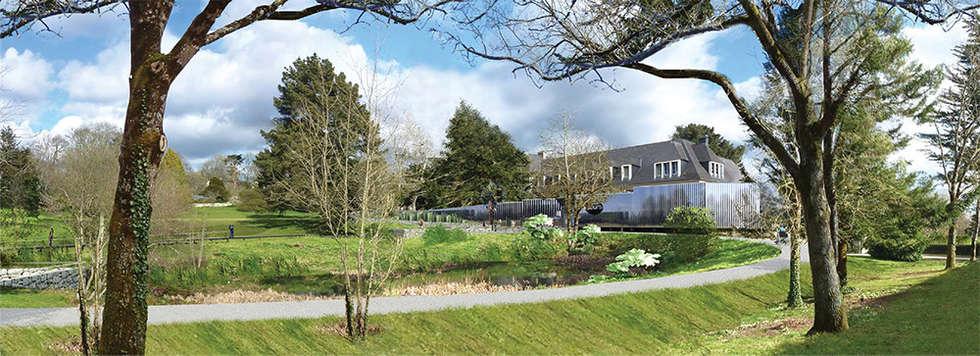 Réaménagement des jardins de l'Abbaye de Daoulas: Jardin de style de style Classique par A3 Paysage Brest