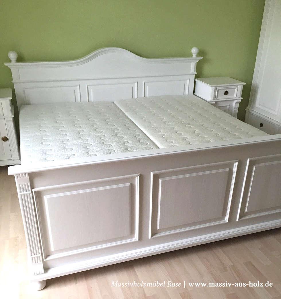 Liebenswert Massiv Aus Holz Sammlung Von Bett Mit Schubladen Im Schlafzimmer: Klassische Schlafzimmer