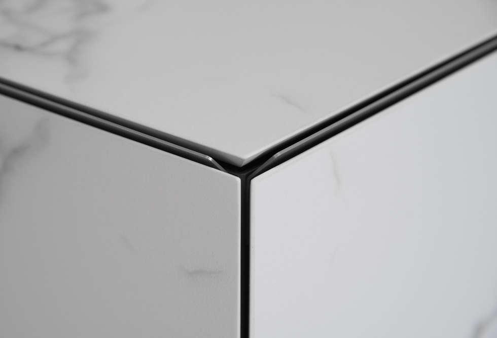 Mevo… detail arbeitsplatte mit vorder- und seitenverkleidung ...