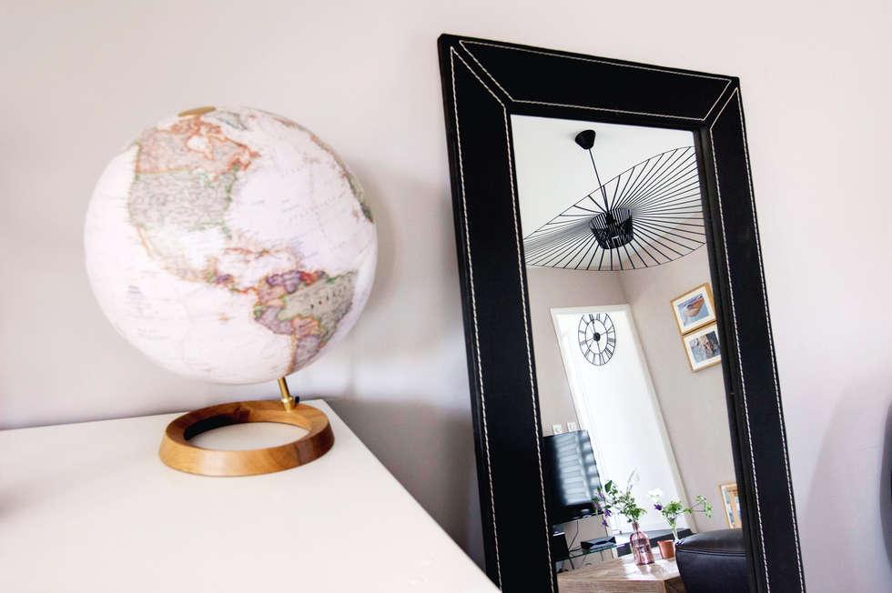 Une décoration sobre et design: Salon de style de style Moderne par E/P DESIGN - Emilie Peyrille