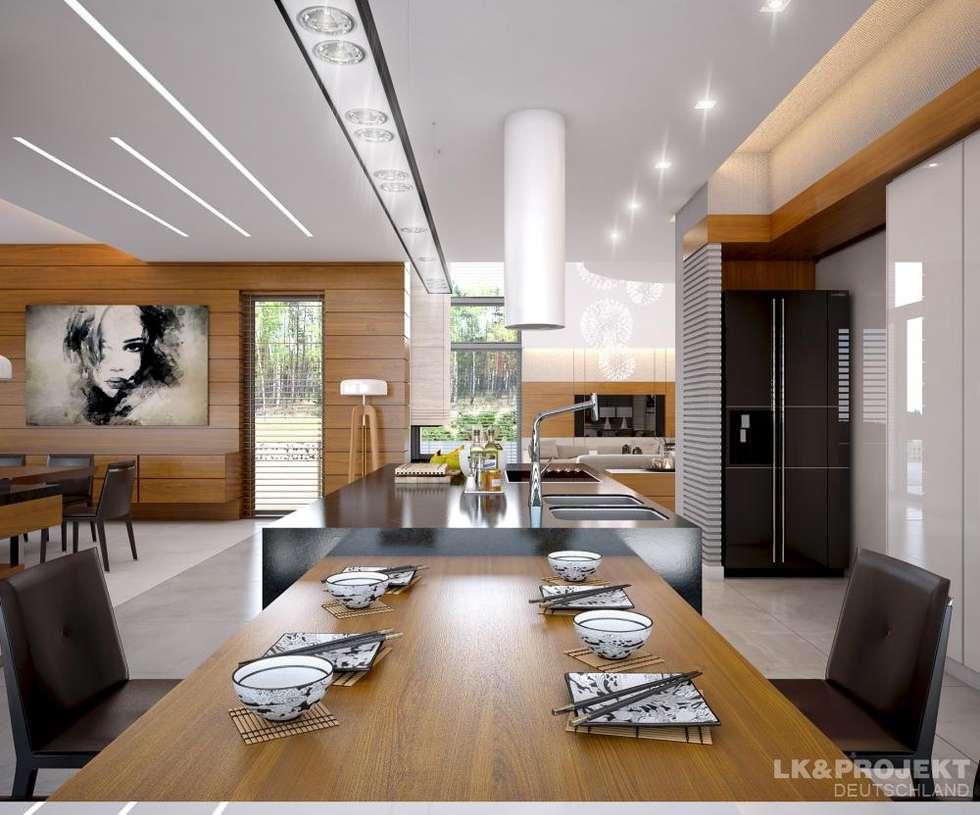 wohnzimmer kche schlafzimmer bad garderobe swimmingpool sauna nicht nur - Fantastisch Moderne Esszimmer
