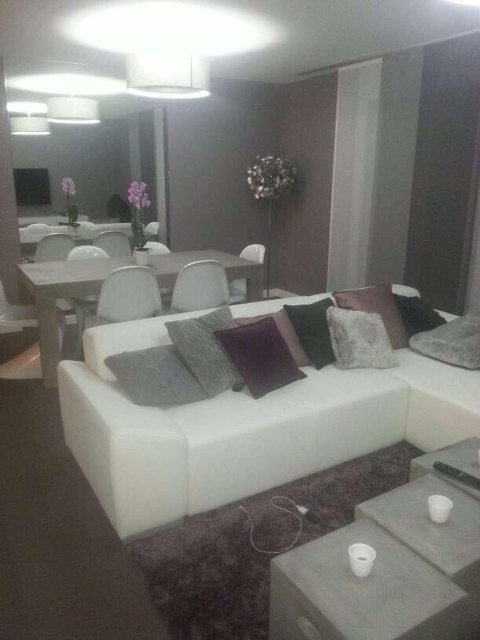 Petit séjour avec salle à manger: Salon de style de style Moderne par CSInterieur