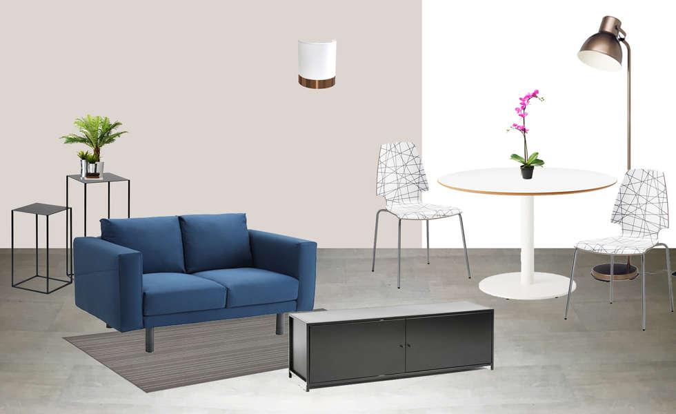 Planche shopping: Salon de style de style Classique par Mon Intérieur Sur Mesure (MISM)