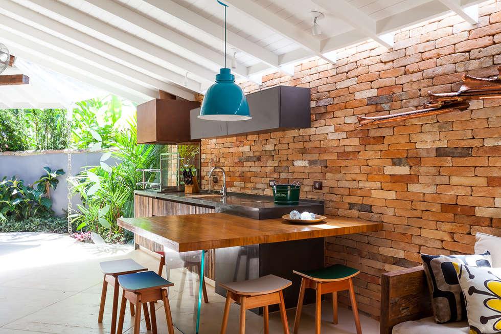 Casa Caiçara: Terraços  por RAC ARQUITETURA