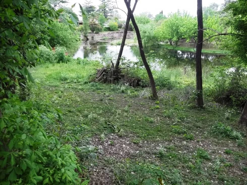 Otra imagen del río y la vegetación: Jardines de estilo colonial por Liliana almada Propiedades