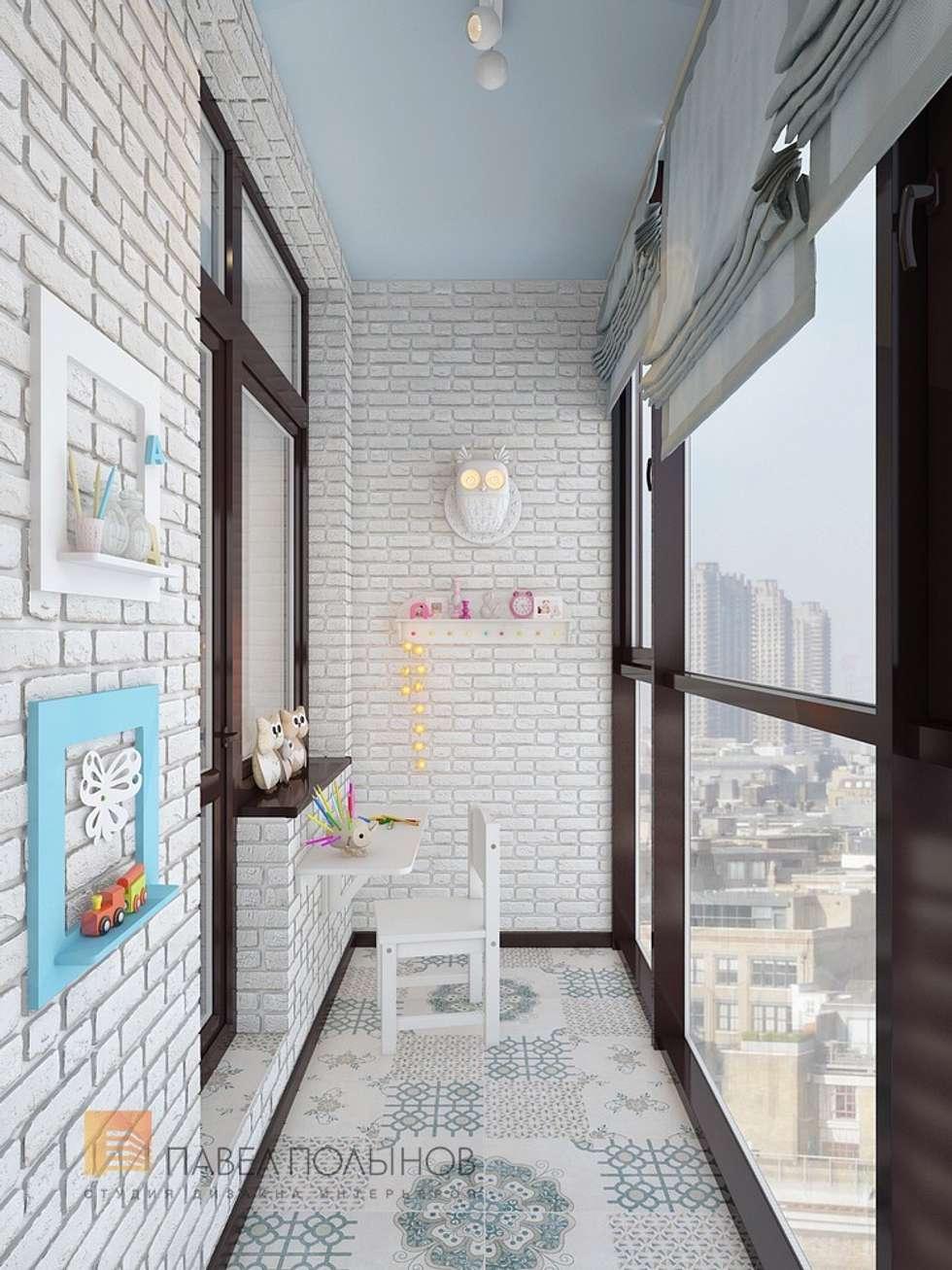 """Лоджия в проекте """"двухуровневая квартира в неоклассическом с."""
