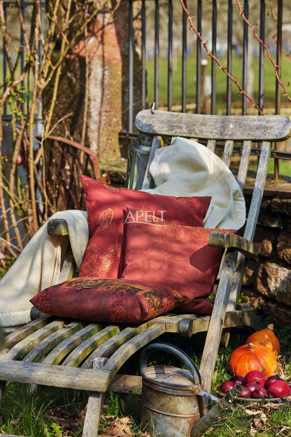 Herbstliche Kissen Moderne Wohnzimmer Von APELT STOFFE
