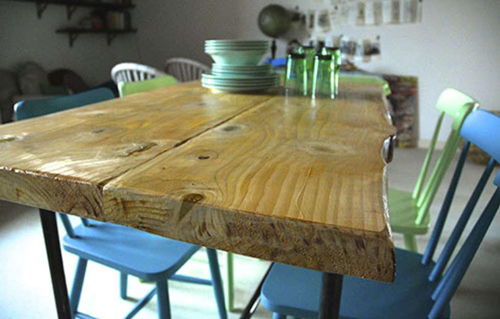 *VERONICA'S TABLE*: Sala da pranzo in stile in stile Scandinavo di Le 18:00