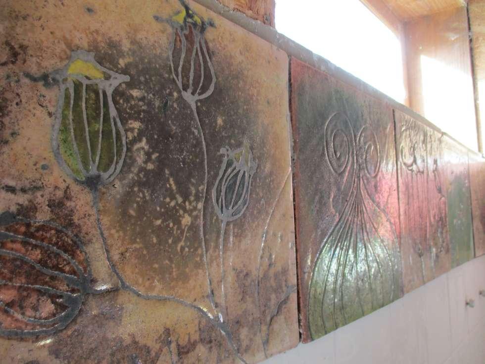Frise en raku: Ecoles de style  par Terre & Bentine
