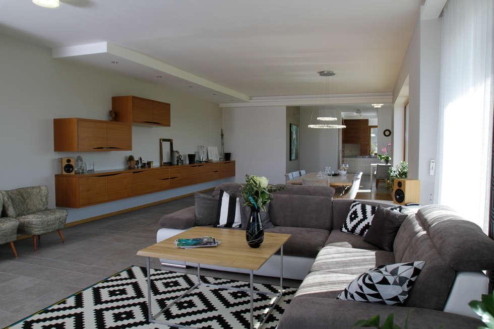 in2home: modern tarz Oturma Odası