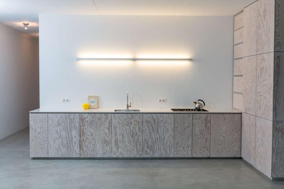 seekiefer minimalistische ka 1 4 che in moderne von der raum schiefer wurf optimaler winkel