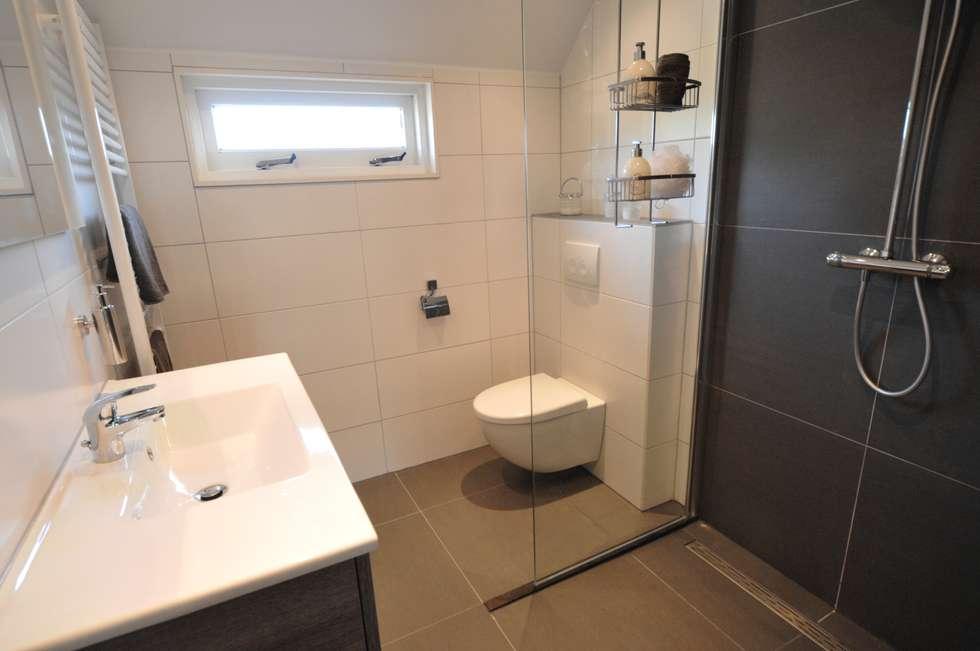 Agz badkamers en sanitair: modern tarz banyo | homify