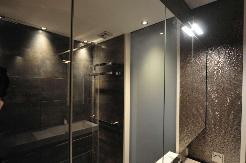 Spiegelkast met led verlichting: koloniale badkamer door agz ...