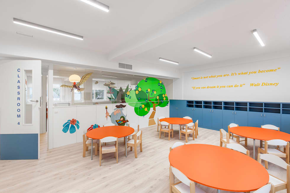 Fotos de decoraci n y dise o de interiores homify - Escuelas infantiles pozuelo ...