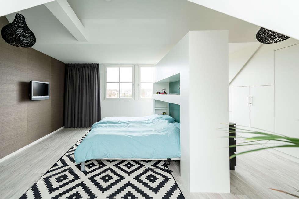 Mooie woning in Denbosch: moderne Slaapkamer door Bas Suurmond Fotografie