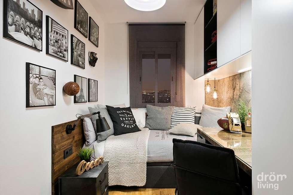 dormitorio juvenil juego de grises dormitorios de estilo industrial de drm living ue