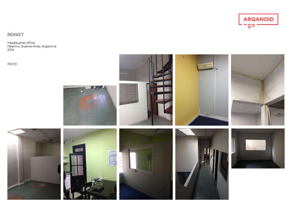 CASE STUDY • REKKET: Oficinas y Tiendas de estilo  por ARQANOID