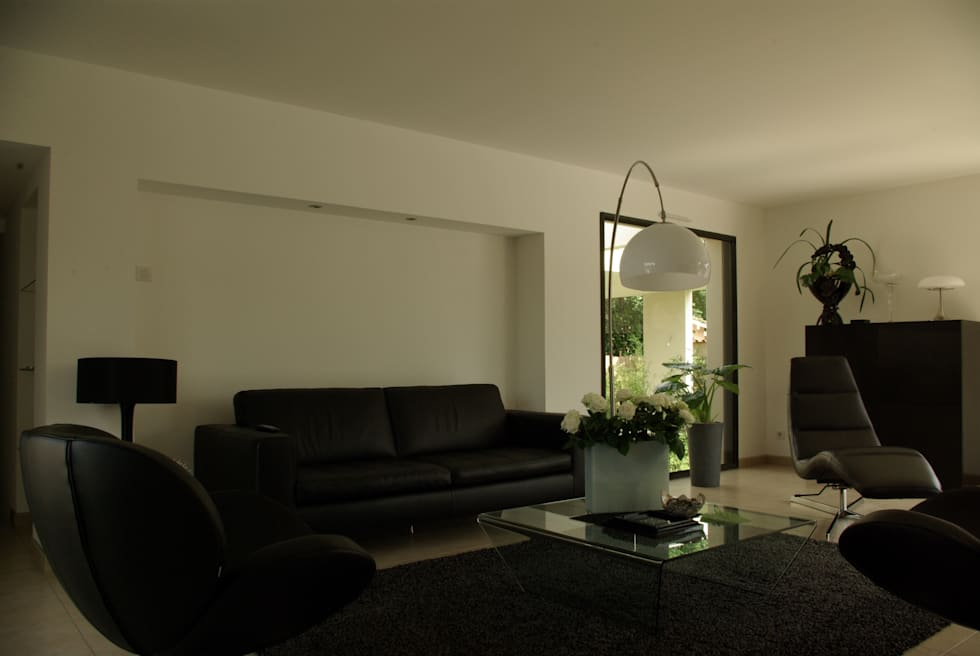 salas de estar por pierre bernard cr ation homify. Black Bedroom Furniture Sets. Home Design Ideas