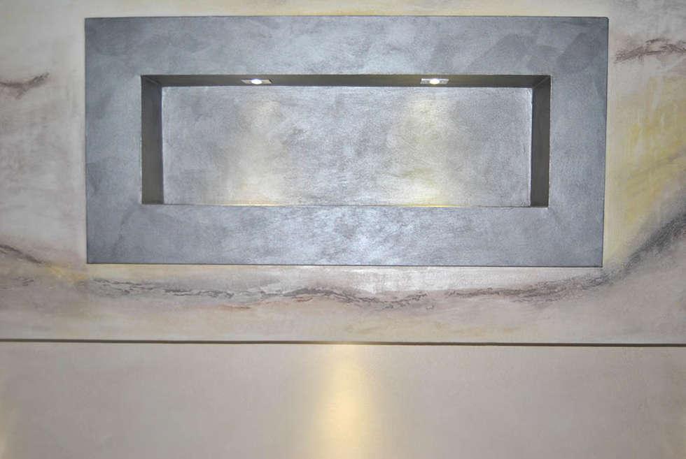 Idee arredamento casa interior design homify - Testata letto in cartongesso ...
