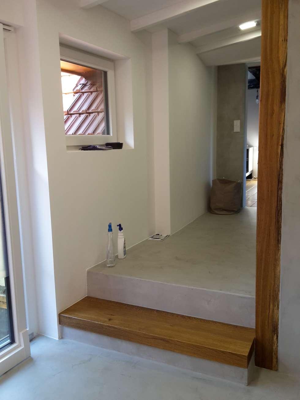 Beton Cire Bad: Moderne Badezimmer Von Robert Mergl