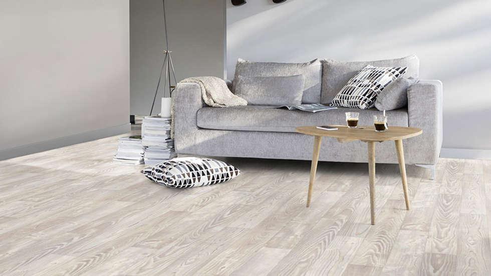 Pavimento PVC: Soggiorno in stile in stile Moderno di Tucommit