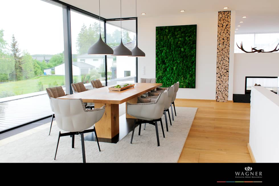 Wohnideen interior design einrichtungsideen bilder homify - Bilder esszimmer ...