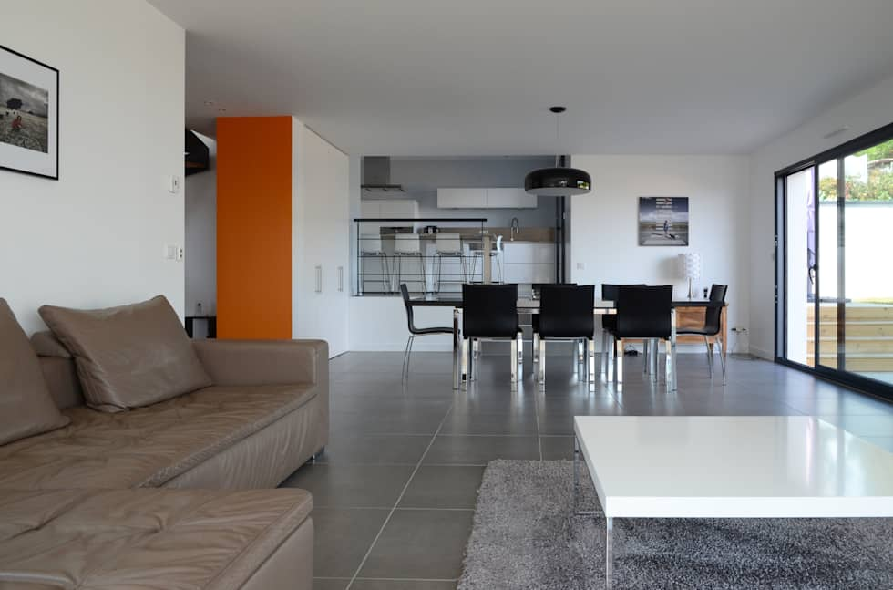 idées de design d'intérieur et photos de rénovation | homify - Salon Ouvert Sur Salle A Manger