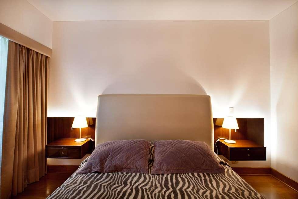 Dormitorio secundario: Dormitorios de estilo  por Carughi Studio