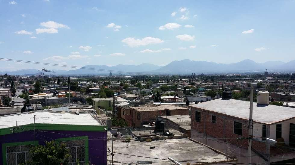 Vista: Terrazas de estilo  por Laboratorio Mexicano de Arquitectura