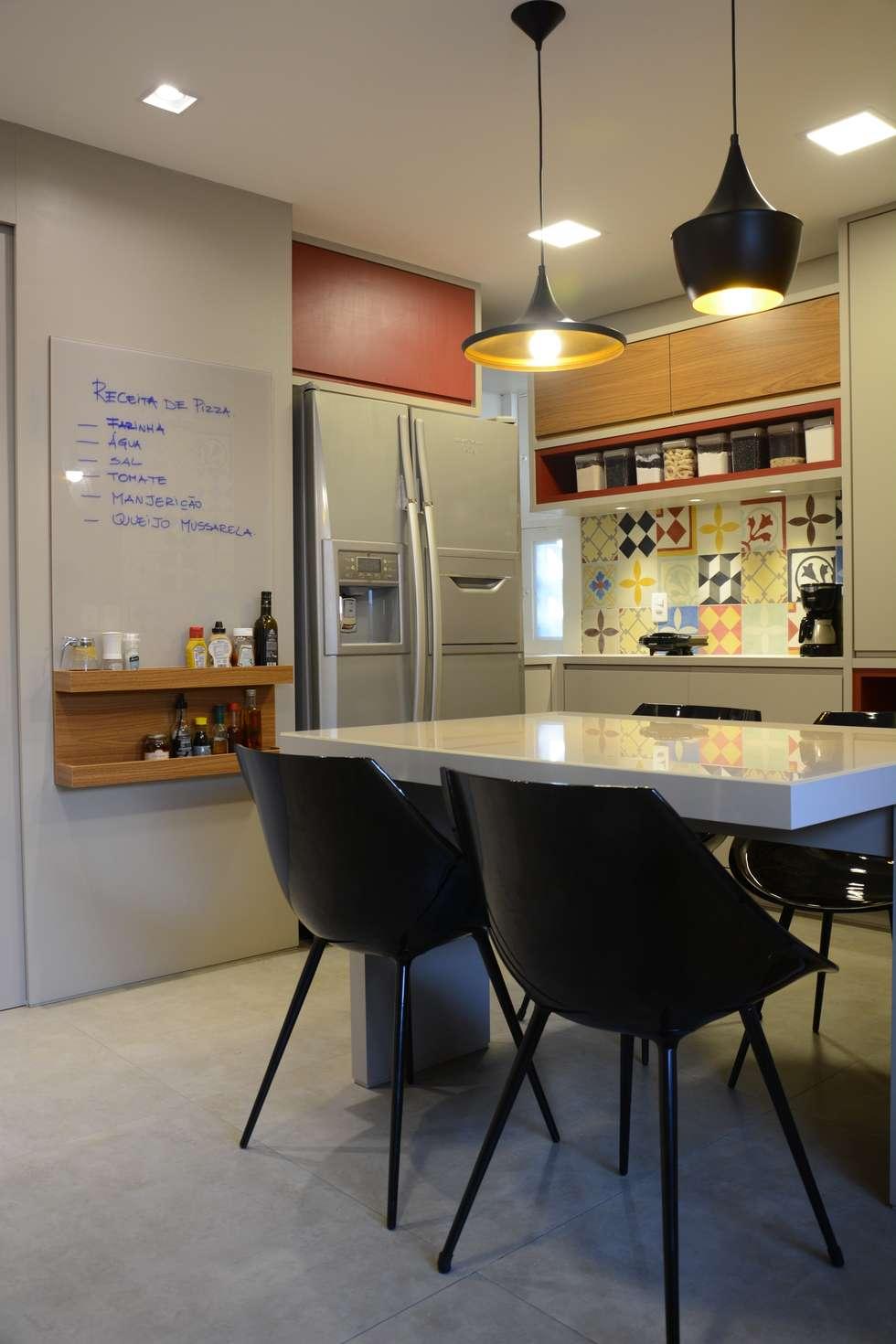 Roubamos Desse Projeto 5 Dicas Para Unir Copa E Cozinha Pequenas