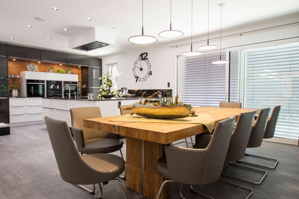 Wohnideen interior design einrichtungsideen bilder for Esszimmer italienisch