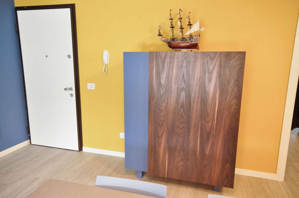 MCArc Interior Design Casa FR: Soggiorno in stile in stile Moderno di MCArc Laboratorio di architettura sostenibile