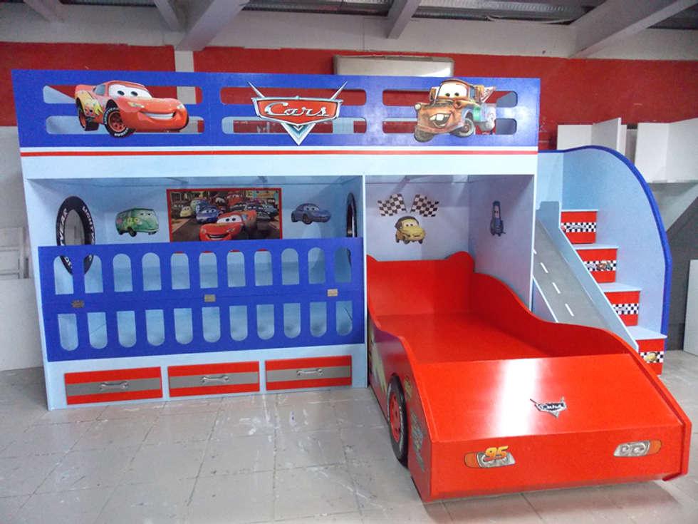 Ideas im genes y decoraci n de hogares homify - Cama infantil cars ...