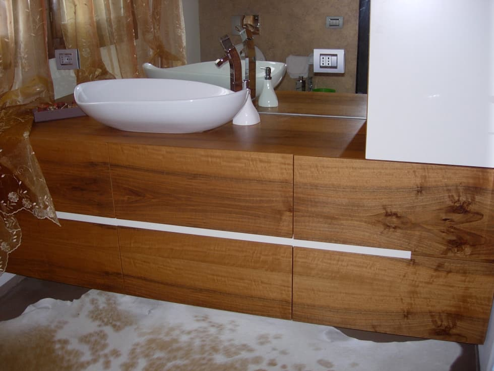 Idee arredamento casa interior design homify - Top bagno su misura ...