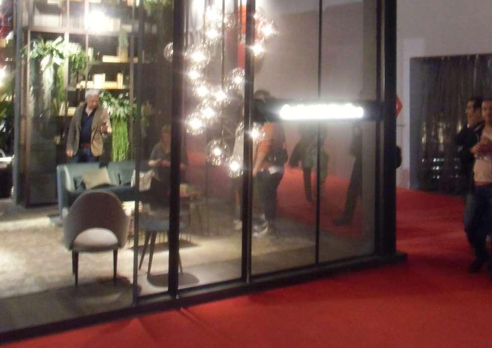 STAND GALLOTTI&RADICE - Fiere/Eventi: Finestre in stile  di Tessitura Tele Metalliche Rossi