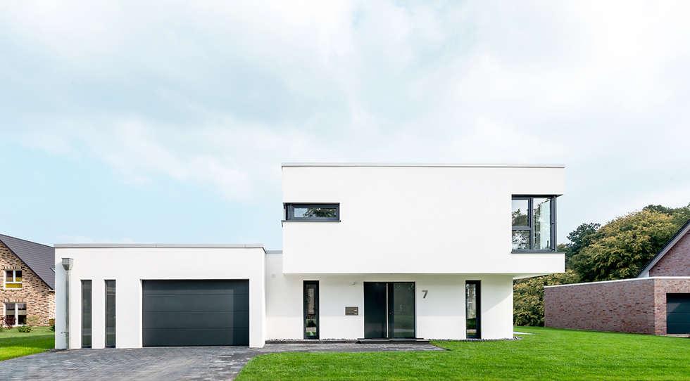 Hervorragend Ansicht Straße: Moderne Häuser Von Hellmers P2 | Architektur U0026 Projekte
