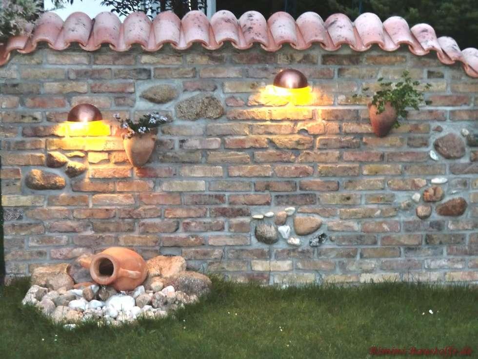 Mauergestaltung Im Garten wohnideen interior design einrichtungsideen bilder homify