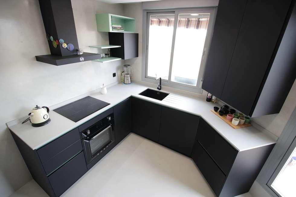 Interior design ideas architecture and renovating photos for Cocinas modernas madrid