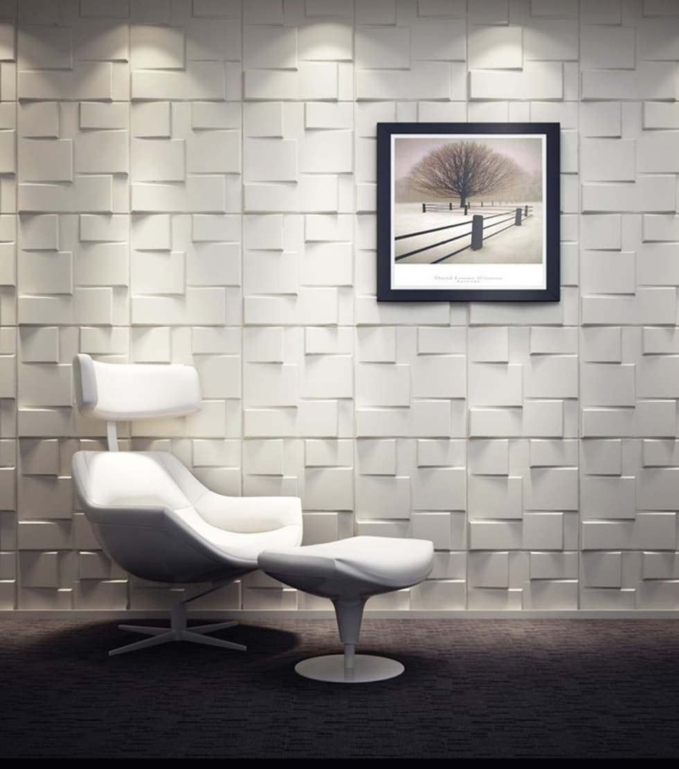 Rubik 3D Wall Panel:  Conference Centres by Twinx Interiors