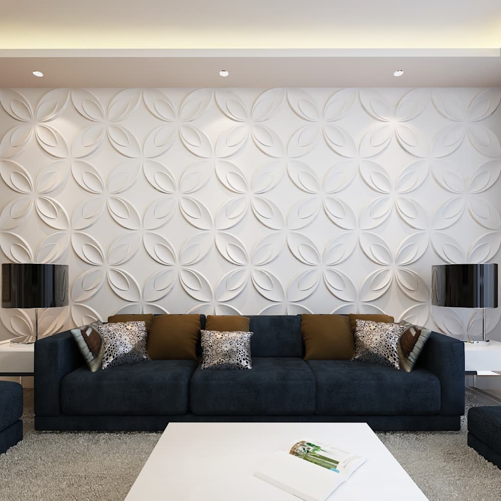 3D Wall Panel:  Commercial Spaces by Twinx Interiors