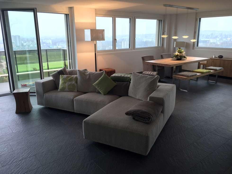 Moderne Wohnzimmer Bilder: Sofa BASELINE von Eilersen  homify