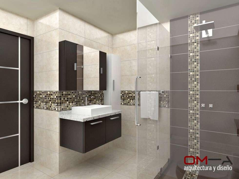 Fotos de decora o design de interiores e reformas homify for Banos modernos para apartamentos