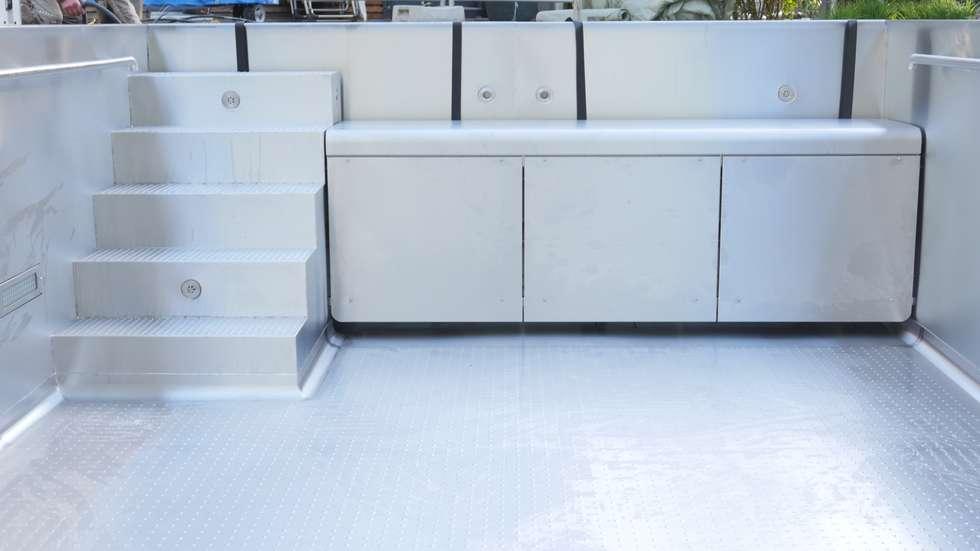 Wohnideen interior design einrichtungsideen bilder - Poolabdeckung unterflur ...