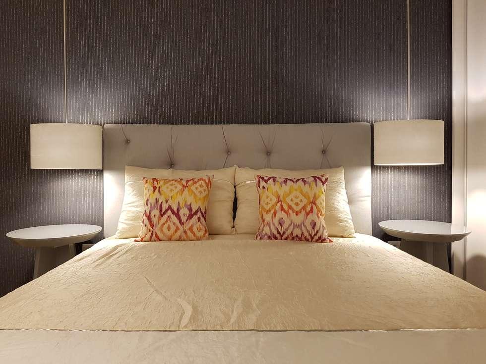 Quarto Suite Depois: Quartos modernos por Alma Braguesa Furniture