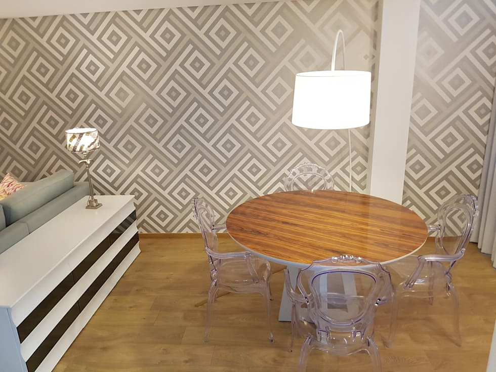 Sala de Jantar: Salas de jantar modernas por Alma Braguesa Furniture