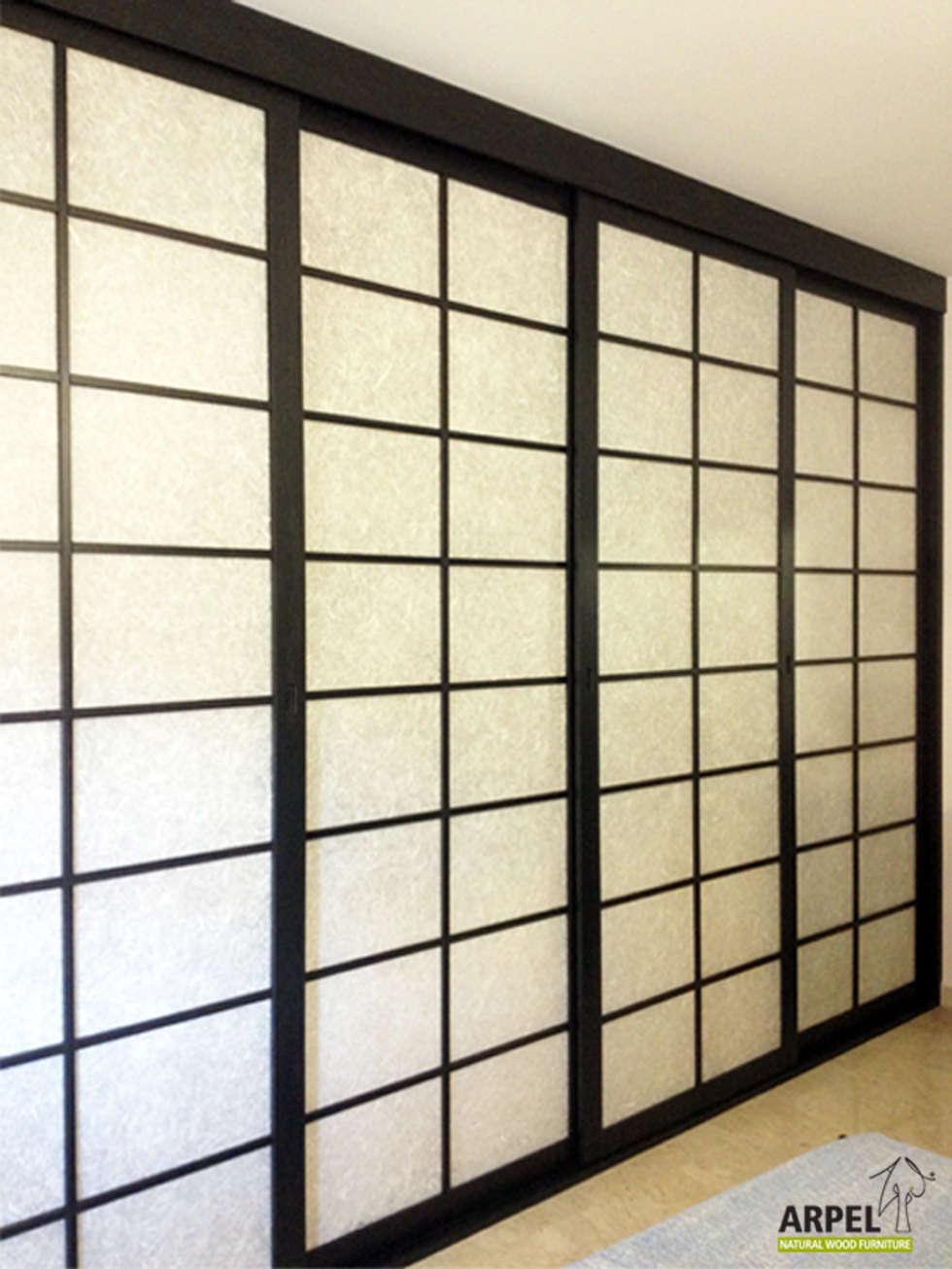 Pareti scorrevoli giapponesi un esempio di parete shoji la parete giapponese in legno e carta - Porte scorrevoli stile giapponese ...