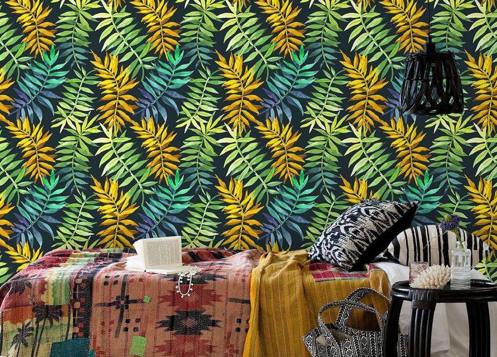 tropical Bedroom by Pixers